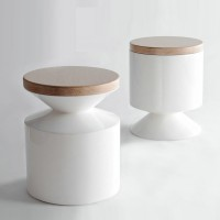Griffin stool side table