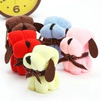 Dog shape towel set