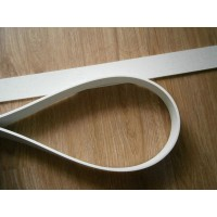 Barcelona Chair Straps Replacement Repair Frame Belt White Color
