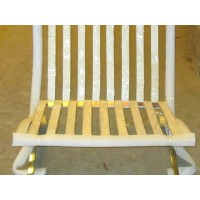 Barcelona Chair Straps Replacement Repair Frame Belt in Customized Cream Color