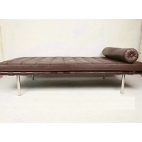 Barcelona Style Daybed In Italian Leather