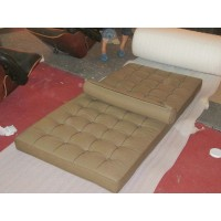 Barcelona style Daybed in Full Nappa Leather