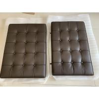 Chocolate Brown Barcelona Chair Cushions in standard grade