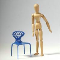 Mini supernatural chair