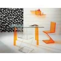 Zig Zag Acrylic Chair