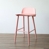 Muuto Style Nerd Bar Stool in Solid Wood