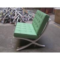 Green Barcelona Chair With Ottoman