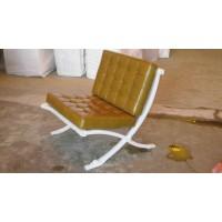 Khaki Barcelona Chair