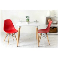 Eames DSW DAW simple style wooden Square table of 60cm diameter