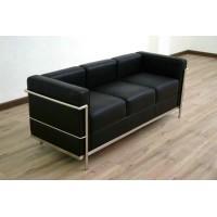 Le Corbusier Style sofa of 3 seats, sofa LC2