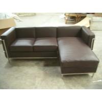 Le Corbusier Style LC2 Half Corner sectional sofa