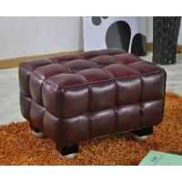 Hoffman Kubus Ottoman in PU leather
