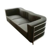 Onda Sofa,three seaters in Fabric or PU leather