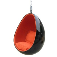 Hanging pod chair egg chair