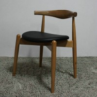 Hans Wegner Style Elbow Horn Chair