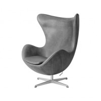 Egg chair in PU leather for kids