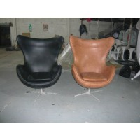 Egg Chair in Real leather