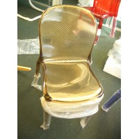 Kartell Style Thalya Chair tan color