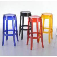 Kartell Style Ghost Bar Stool,Large size