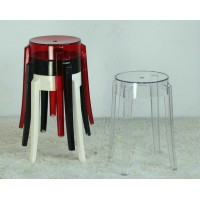 Kartell Style Ghost Bar Stool,small size
